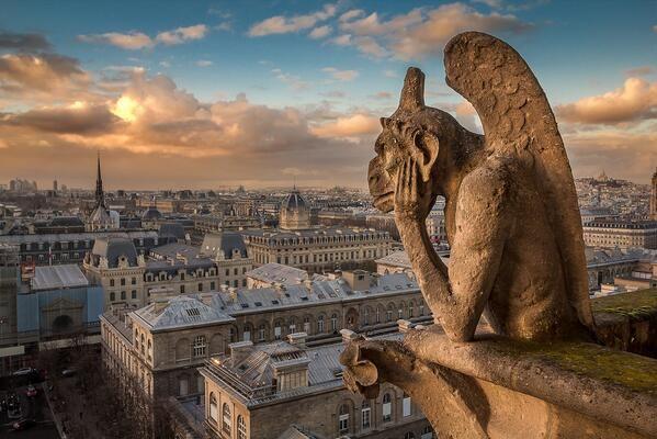 Restauration Statue Viollet Le Duc Paris