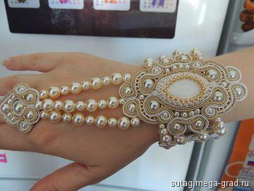 Bracelet bague (avec perles plus petites ?)