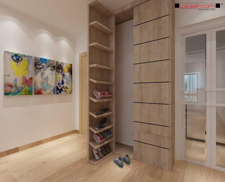 weiken interior modern contemporary shoes cabinet