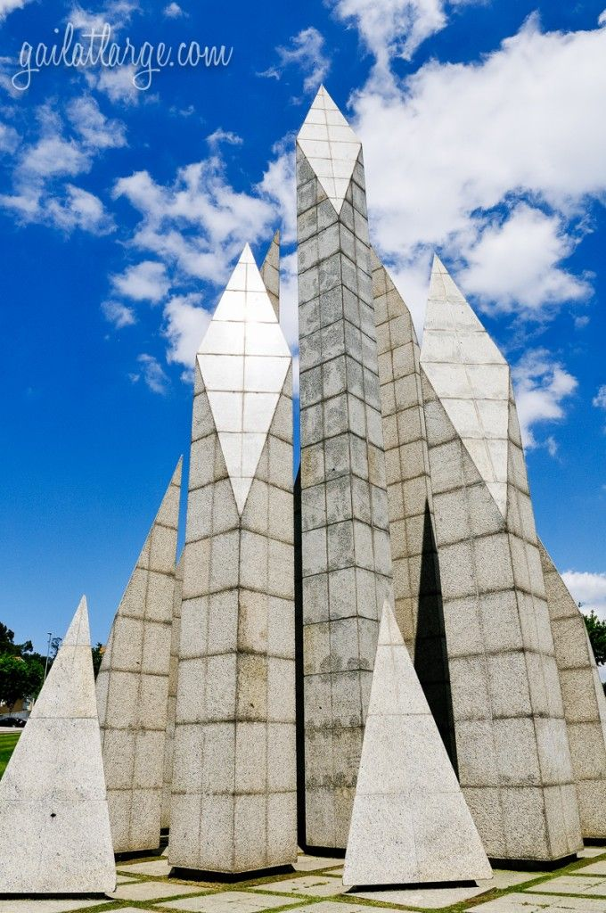 Monumento à Comunidade Maiata (Maia, Portugal)