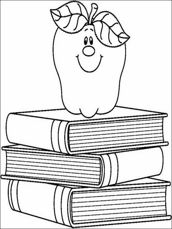 Dibujos para Colorear Escuela 19 | Dibujos para colorear para niños ...