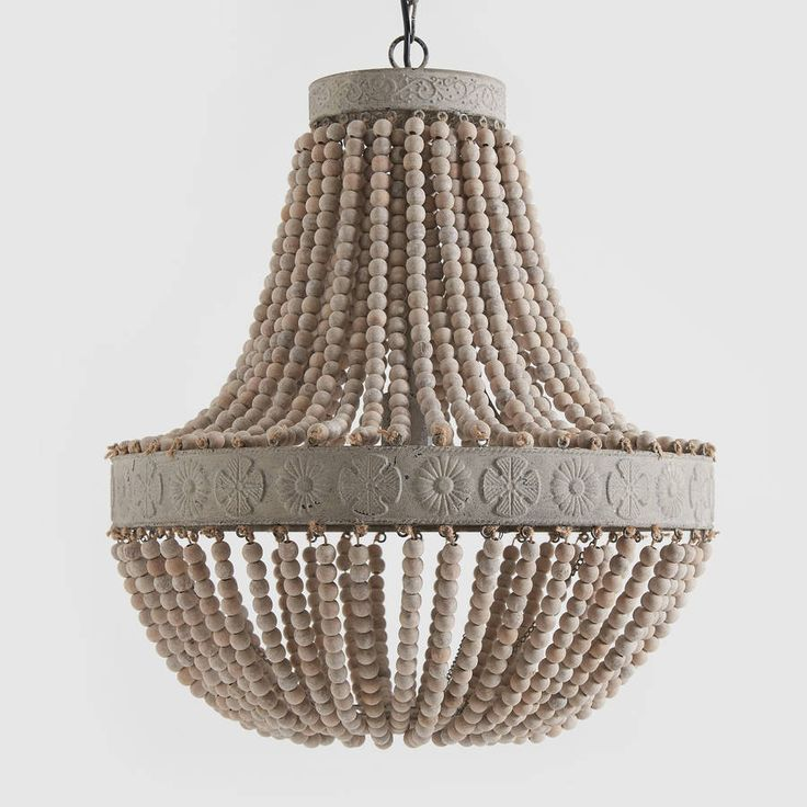 1000 ideas about bead chandelier on pinterest wood bead. Black Bedroom Furniture Sets. Home Design Ideas