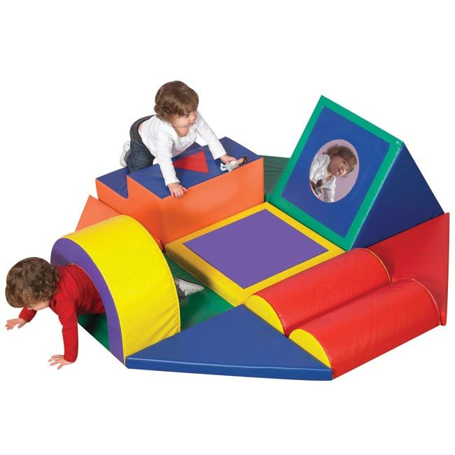Shape And Play Obstacle Course Climber Soft Play Obstacle Course Kids Playground