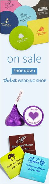 On Sale Now at The Knot Wedding Shop