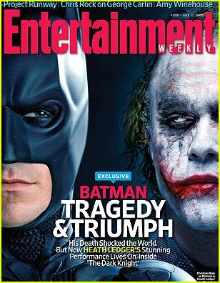 Director Christopher Nolan spoke to Entertainment Weekly about the late Heath Ledger, who plays The Joker in the upcoming superhero blockbuster, The Dark Knight. Description from justjared.com. I searched for this on bing.com/images