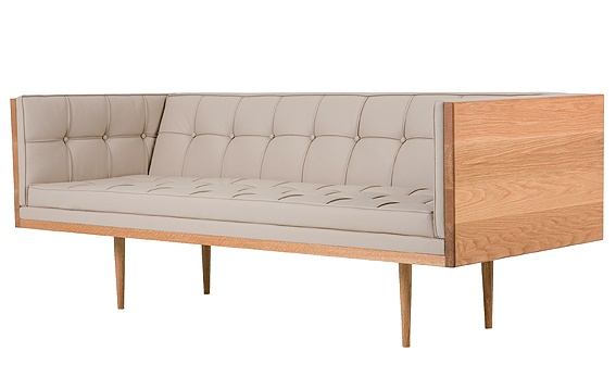 box sofa by de la espanda is basically the dreamiest sofa ever. i'm in a constant flux between modern country style and borderline barren contemporary.