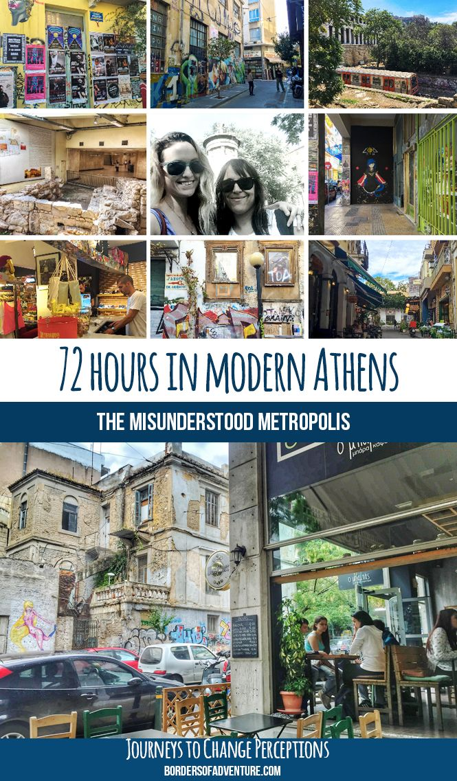 Bestowed with the glorious history of the ancients, yet fighting off a misunderstood contemporary persona, the identity of Athens is hard to describe. It's multi-layered and convoluted, and outside of its Acropolis fame, many ignore the edgy metropolis whose heart beats within the scattering of centuries-old ruins. More here: http://www.bordersofadventure.com/72-hours-in-modern-athens-the-misunderstood-metropolis/ #Athens #Greece