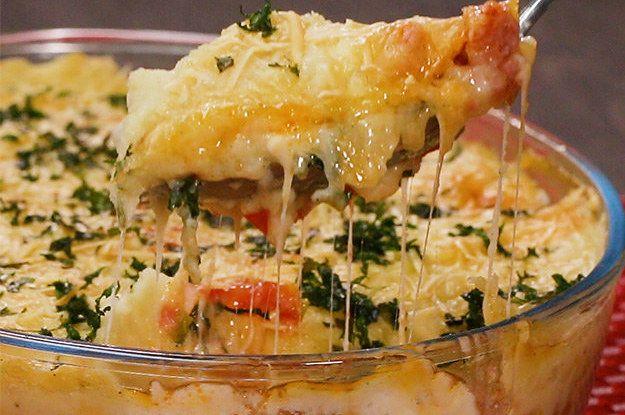 Learn to do escondidinho Tuscan sausage: | Arrase na cozinha com este escondidinho de linguiça toscana
