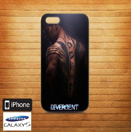 Divergent Tattoo Case for iPhone 5/5s/5c iPhone 4/4s by Eraphone
