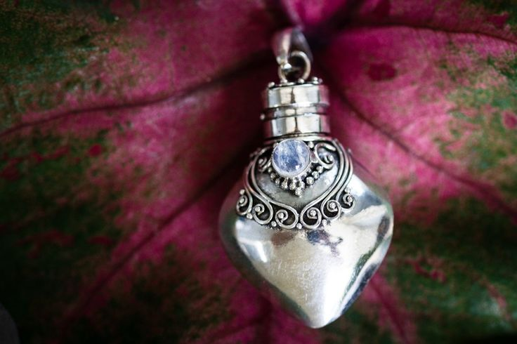 Sterling Silver Keepsake Urn Pendant - Holds Cremation Ash or Hair