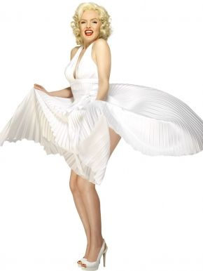 Strój inspirowany Marilyn Monroe