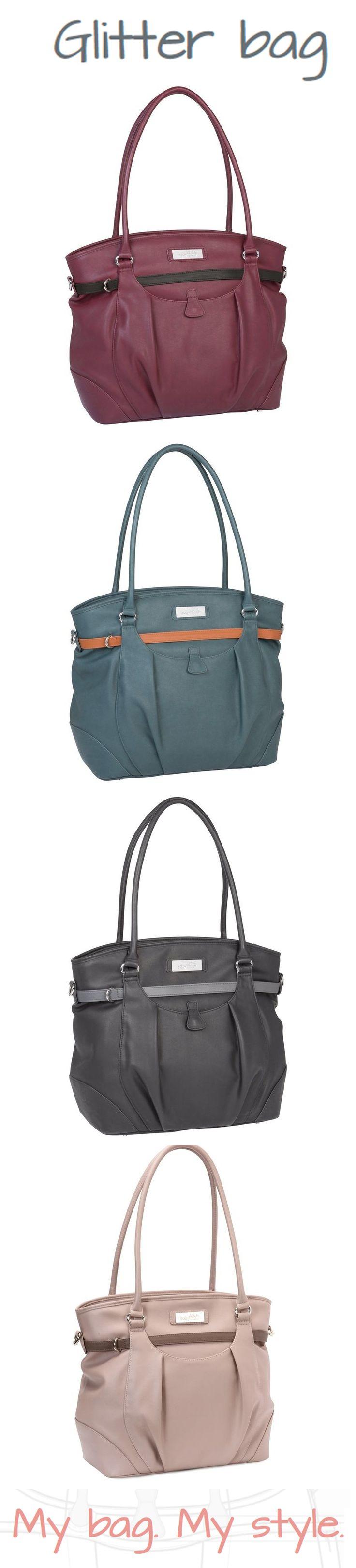 Glitter Bag #fashionmum #chic #glamour #itbag #ChangingBag #Babymoov #MyBagMyStyle