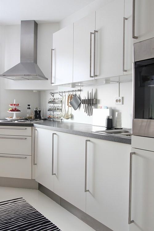 white kitchen, and
