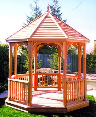 Free Gazebo Plans - Woodwork City Free Woodworking Plans