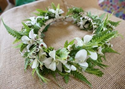 Leis and Hakus for your Kauai Wedding - Passion Flowers Kauai