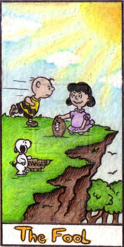 Peanuts Tarot - The Fool