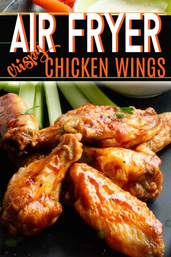 Healthy Air Fried Chicken Wings You Wont Believe They Aren T Deep Fried Airfryer