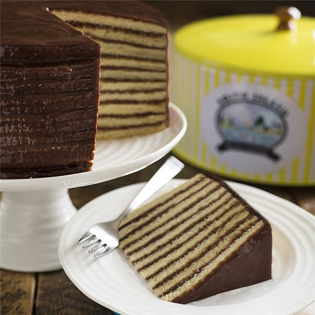 Visitors to Maryland's Smith Island know to pick up a famed Smith Island Cake ($55). The treat has 10 layers of cake and fudge icing and comes in a variety of flavors.