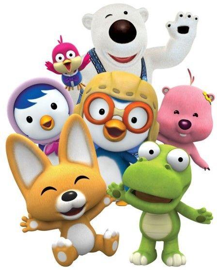Pororo and friends - my kids fav!