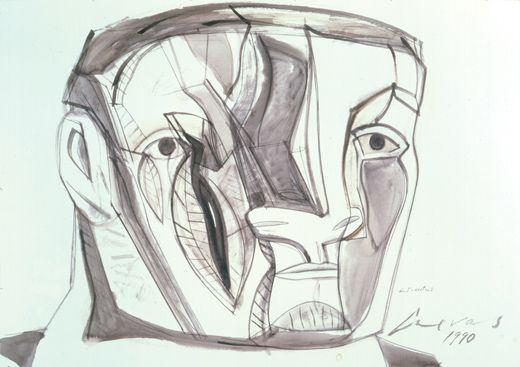 Jose Luis Cuevas / Obras-Dibujos