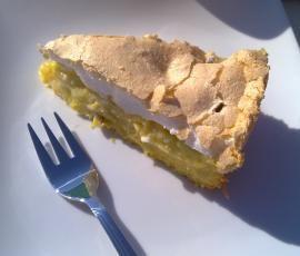 Rezept Rhabarberkuchen mit Baiser von Pippi16 - Rezept der Kategorie Backen süß
