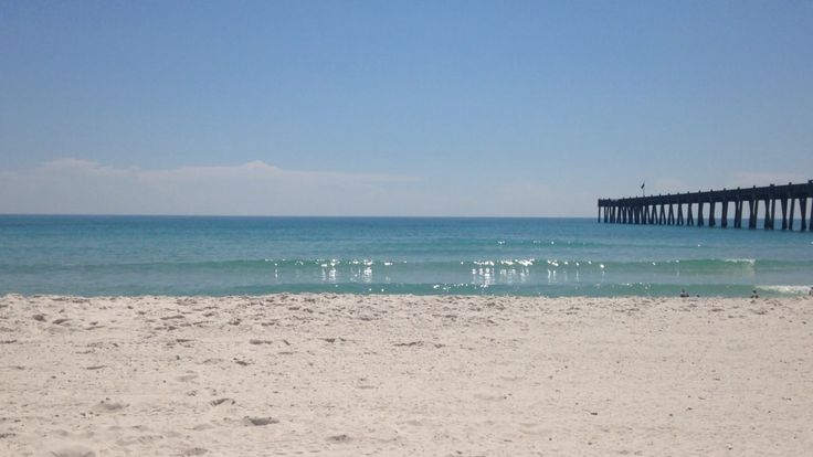 Pensacola Pier, one of my favorite places to snorkel :)