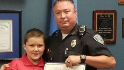 Cop Honored After Adopting Child Abuse Victim: 'It Was the Worst Thing I'd Ever Seen'