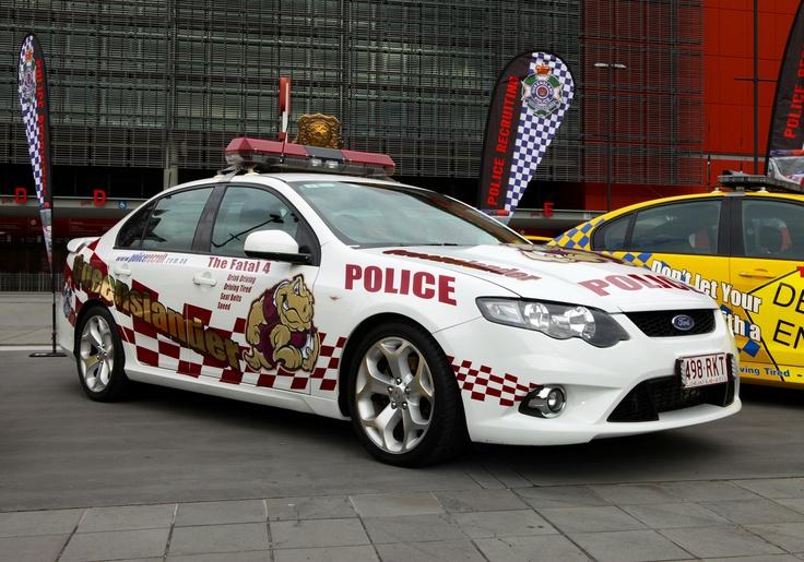 2012 'Queenslander' State of Origin Charity Car