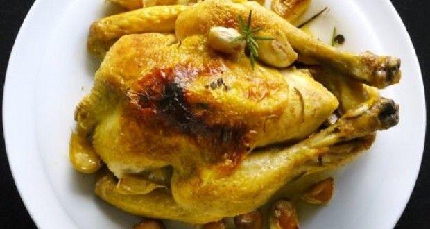 κοτόπουλο με 40 σκόρδα: ξεμάτιασμα στο πιάτο - Pandespani.com