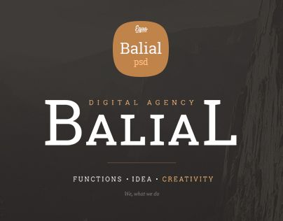 Ознакомьтесь с этим проектом @Behance: «Balial» https://www.behance.net/gallery/19604193/Balial