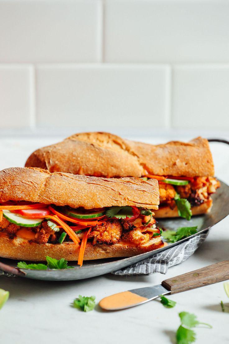 Cauliflower Banh Mi Sandwich