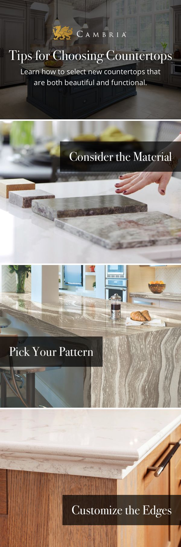 25 best ideas about cambria countertops on pinterest for Kitchen countertop planner