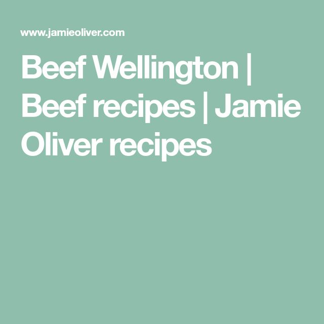 Beef Wellington | Beef recipes | Jamie Oliver recipes