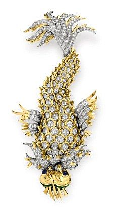 Night of the Iguana Brooch, estimated worth £150,000 to £250,000 ($231,000 to $385,000)