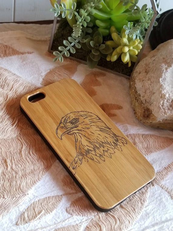 Eagle bamboo wood iPhone case for iPhone 6 iPhone 6s iPhone