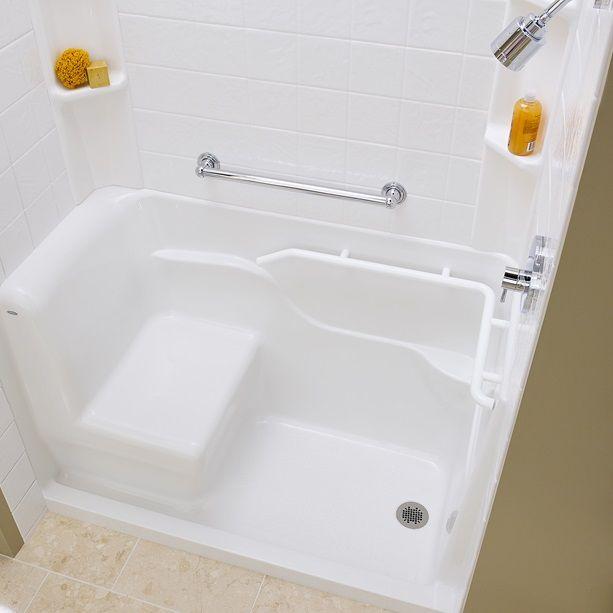 B 3060shrw Acrylic Seated Safety Shower Jpg 613 613 Pixels Gray