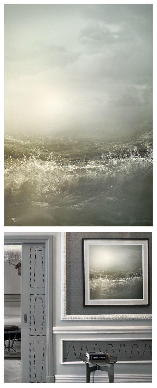 Grigio paesaggio marino arte, fotografia di paesaggio di mare luna, grande parete arte, notte mare stampa arredamento nautico, poster di grandi dimensioni, verticale arte, 16 x 24, 24 x 36 di RivuletPhotography su Etsy https://www.etsy.com/it/listing/397813583/grigio-paesaggio-marino-arte-fotografia