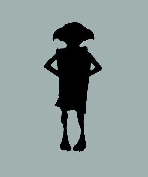 Dobby Silhouette Dobby the house elf silhouette