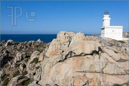 Lighthouse At Capo Testa, Sardinia #Featurepics