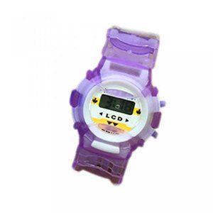腕時計 ガールズファッション  Children Watch Digital Quartz Sports Wristwatches (Purple) 正規輸入品