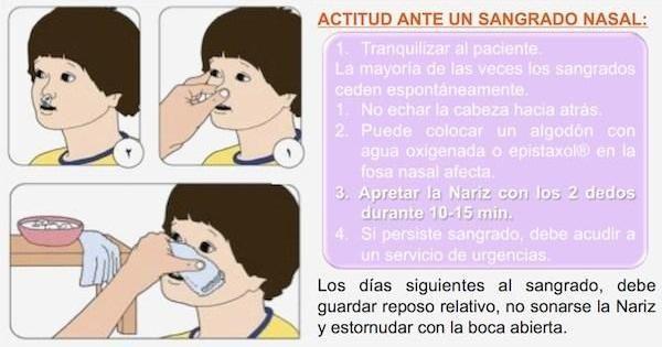 Qué hacer cuando sangra la nariz y cómo prevenirlo
