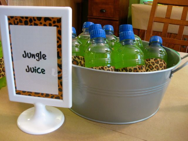Originally pinned as a part of a cute jungle themed kid birthday party.  I couldn't stop laughing thinking how these parents were getting their kids ready for college!