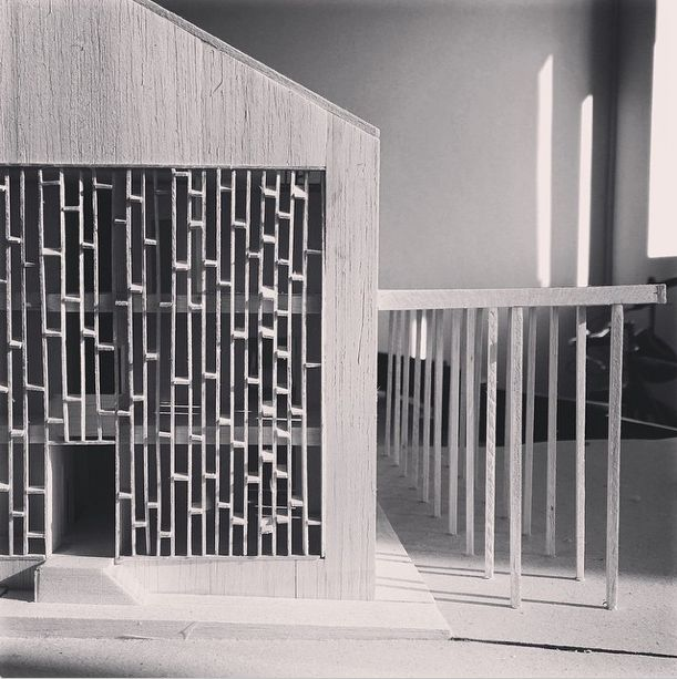 oday's #ModelMonday shot is of @carterwilliamson_architects entry for The Lodge. A competition to design a new Canberra residence for the Prime Minister. More details on our website www.carterwilliamson.com