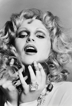 "Been to Max's - Candy Darling, born James Slattery, dubbed ""the most beautiful of the famous Warhol drag queens"""