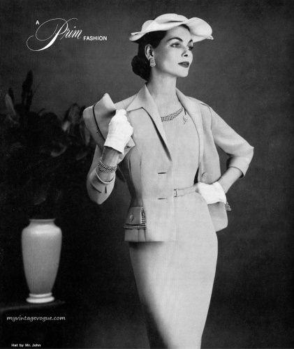 vintage fashion 1955