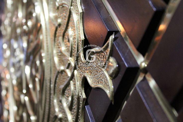Kerajinan Replika Pintu Masjid Nabawi Custom
