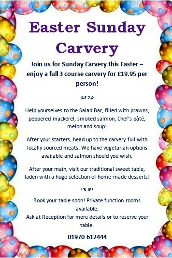 Easter Sunday Carvery 2013