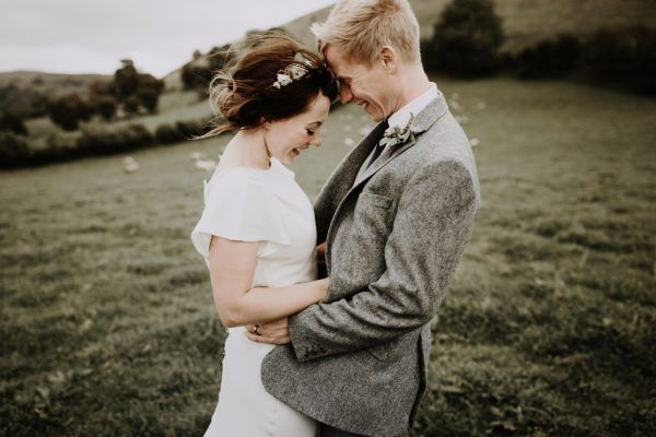 This Welsh Wedding in a Shed is Unbelievably Charming
