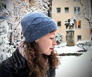 Stepping Stones Hat / bulky hat / bulky yarn / bulky weight knitting pattern / bulky knitting pattern / rowan cocoon / sopranoknits / knit hat / hat knitting / knit a hat / knitting pattern / beginner knitting pattern