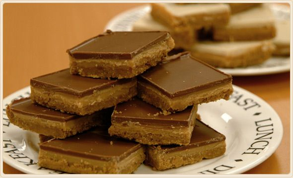 Scottish Food Recipes Scotland Caramel Shortbread recipe